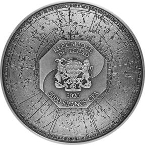 預購(限已確認者下單) - 2020查德-四聖獸系列-白虎-(2盎司銀+11.5盎司銅)銀幣