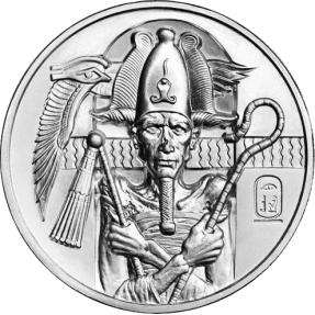 現貨 - 埃及-歐西里斯-2盎司銀幣(普鑄)(含塑殼)