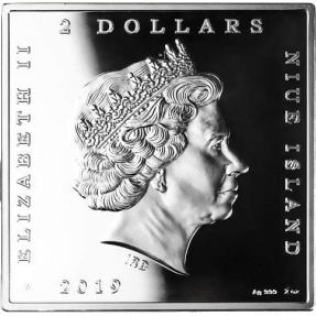 預購(即將到貨) - 2019紐埃-世界上最昂貴的畫作-你何時結婚?-2盎司銀幣