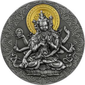 現貨 - 2020喀麥隆-古代佛像-2盎司銀幣