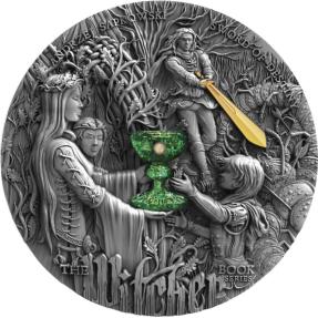 預購(確定有貨) - 2020紐埃-巫師系列-命運之劍-2盎司銀幣