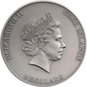 現貨 - 2020庫克群島-困-1盎司銀幣