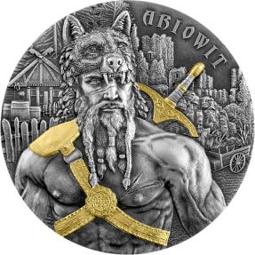 現貨 - 2020日耳曼尼亞-勇士系列-Ariowit戰士-2盎司銀幣