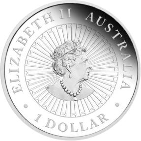 預購(即將到貨)(原廠已售罄) - 2021澳洲伯斯-澳大利亞珍珠母貝-令人驚嘆的南方大陸-1盎司銀幣