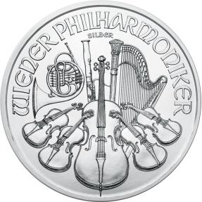 預購 - 2021奧地利-愛樂-1盎司銀幣(普鑄)(20枚)