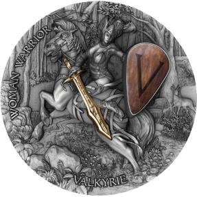 預購(確定有貨) - 2020紐埃-女勇士系列-女武神-2盎司銀幣